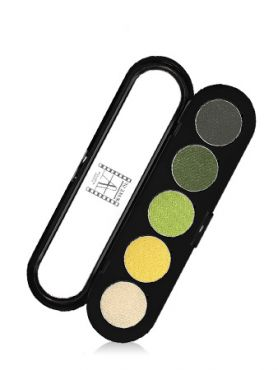 Make-Up Atelier Paris Palette Eyeshadows T08 Glided green