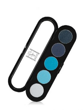 Make-Up Atelier Paris Palette Eyeshadows T07 Blue tones