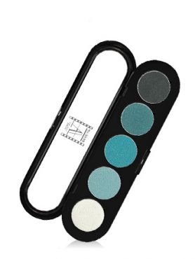 Make-Up Atelier Paris Palette Eyeshadows T11 Blue green tones