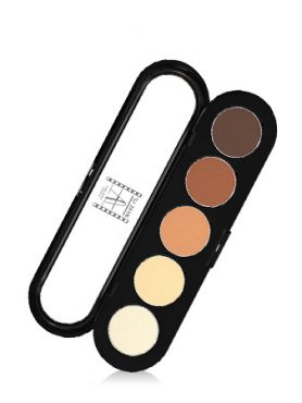 Make-Up Atelier Paris Palette Eyeshadows T05 Gilded tones