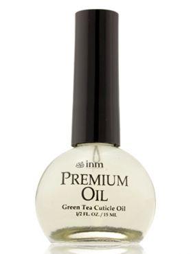 Inm Масло для кутикулы Premium Oil Зеленый Чай