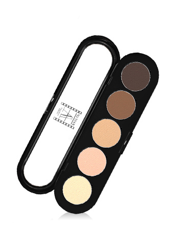 Make-Up Atelier Paris Palette Eyeshadows T22 Natural chestnut